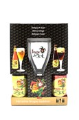 Brugse Zot Giftpack 4x33cl+Glass