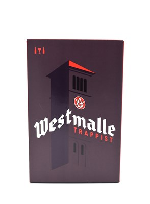 Westmalle Giftpack 2x33cl+Glass