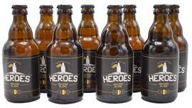 Heroes Amazing Blond 8x33cl