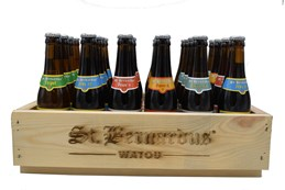 St. Bernardus MIX Wooden Crate 24x33cl